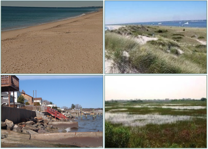 examples of shoreline features