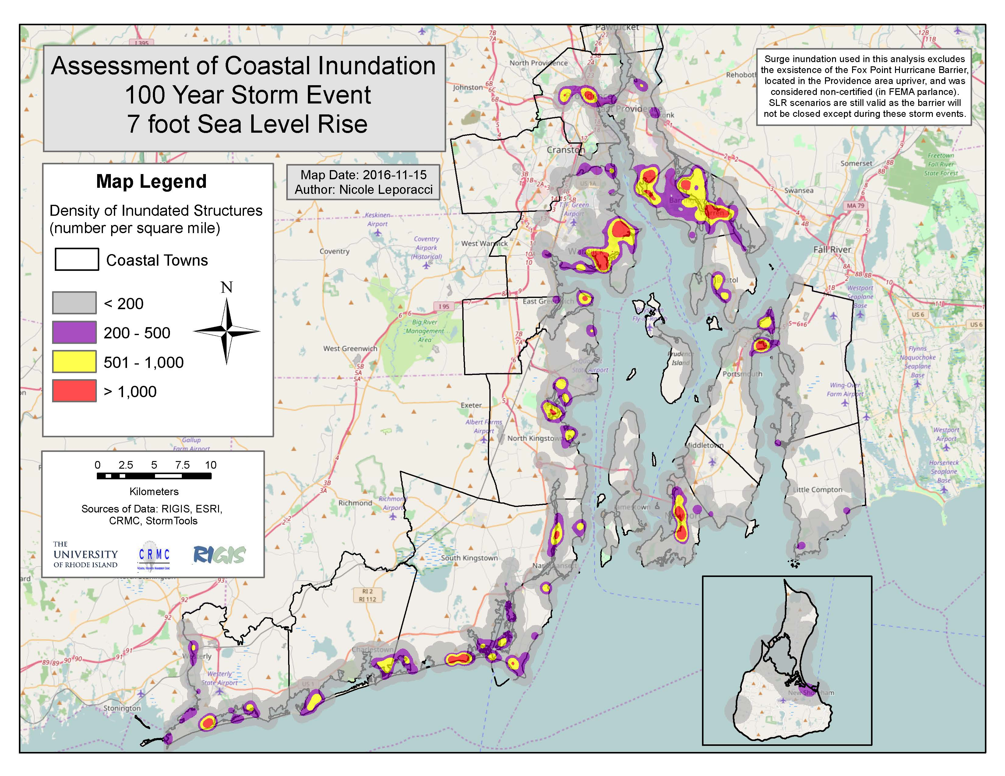 Rhode Island In Us Map Rhode Island E911 Exposure Assessment U2013 Ri Sline Change